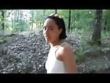 Jamila de Marokkaanse slet In het bos-Deel 4