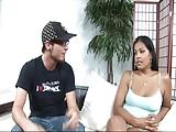 Sexy latina neuken met haar vriendje